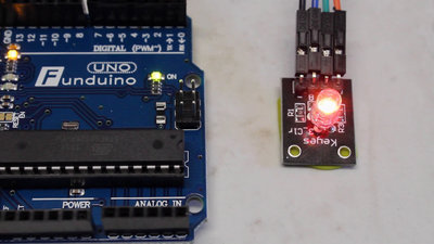 Microcontroller starter kit RGB LED
