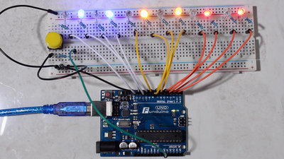 Microcontroller starter kit push button