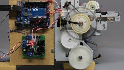 Encoder disc - HomoFaciens