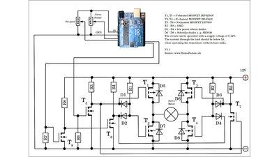 wiper motor servo circuit